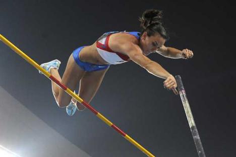 Yelena Isinbáyeva ya ha intentado dejar el deporte más de una vez. Fuente: Flickr/markopako