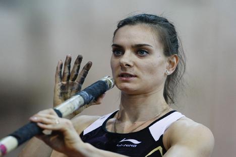 Isinbáyeva espera un bonito final de su espléndida carrera. Fuente: PhotoXPress