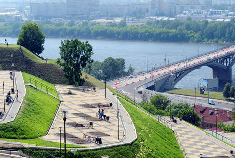 En Moscú se están ampliando los parques y zonas verdes. Fuente: Servicio de Prensa.