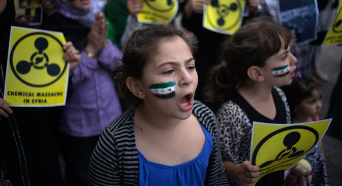 Critica que se hable de un ataque sin la aprobación de la ONU y duda del uso de armas químicas por parte del gobierno. Fuente: Reuters