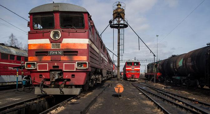 Ambiciosos proyectos pretenden aumentar la competitividad de las líneas de ferrocarril de Siberia y el Extremo Oriente. Fuente: Max Avdéev