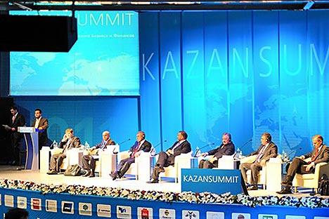 Der KazanSummit 2013 begrüßt zum fünften Mal Wirtschaftsvertreter der russischen und islamischen Welt. Foto: Pressebild