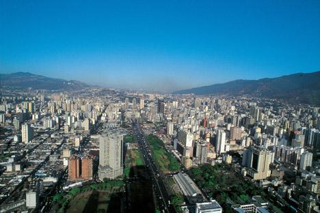 Vista panorámica de Caracas, capital de Venezuela. Fuente: Alamy / Legion Media