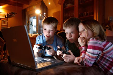 Rusia es el primer país de Europa, Asia y Oriente Medio en términos de usuarios de videojuegos. Fuente: Photoshot / Vostock-Photo