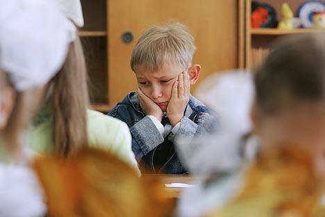 En casi todas las aulas hay una persona que es acosada por las demás.Fuente: ITAR-TASS