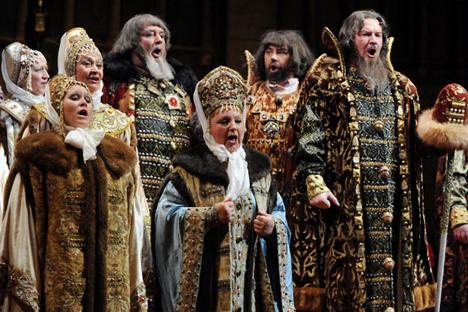 Una de las representaciones de Borís Godunov. Fuente: Ria Novosti