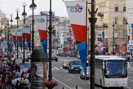 Segundo o critério da disponibilidade de financiamento, a Rússia ocupa o 15º entre os países do G20 Foto: Reuters