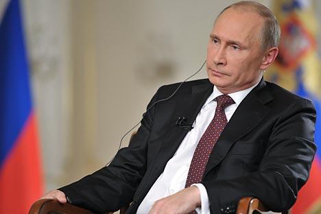 Mostramos las 10 citas más destacadas del presidente ruso sobre la actualidad nacional e internacional. Fuente: Reuters