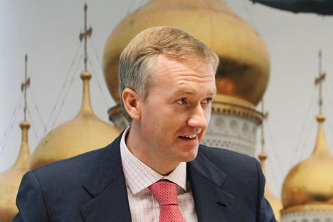 Diretor da empresa russa de fertilizantes Uralkali, Vladislav Baumgertner,  foi acusado de abuso de poder e de autoridade Foto: Reuters / Vostock Photo.