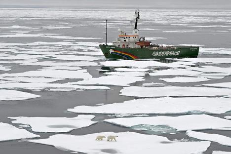 AAlguns itens pessoais do Arctic 30 permanecem a bordo do Arctic Sunrise Foto: ITAR-TASS