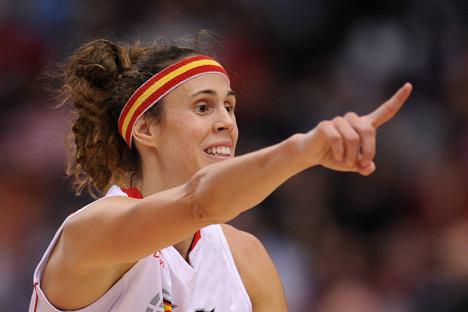 La capitana de la selección española de baloncesto recuerda su periplo por Rusia. Fuente: Imago / Legion Media