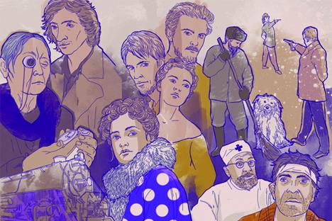 Dibujado por Natalia Mijáilenko.