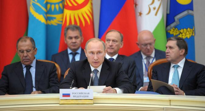 Se reúnen en Sochi los miembros de la Organización del Tratado de la Seguridad Colectiva (OTSC). Fuente: ITAR-TASS