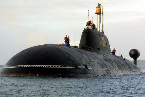 Modernização do primeiro submarino do projeto 971 será concluída em até 2016 Foto: AFP / East News