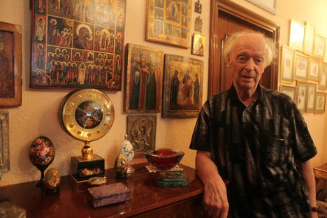 El doctor Manuel Arce es uno de los niños que llegaron a la URSS en 1937. Volvió 30 años después. Fuente: Julián Jaén