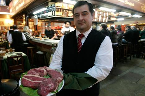 La carne tiene una reducción del 25 % en los aranceles. Fuente: Reuters