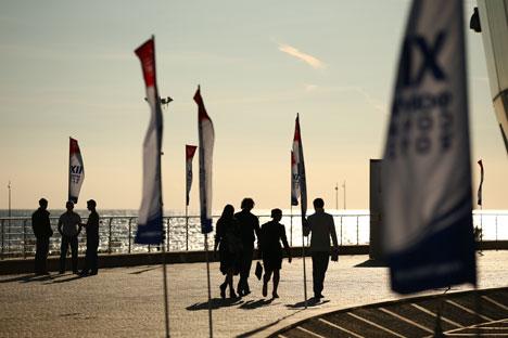 La ciudad de la costa del mar Negro celebra los Juegos más caros de la historia dentro de cinco meses. Fuente: ITAR-TASS