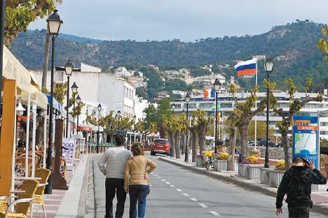 Según estadísticas oficiales, 1.300.000 ciudadanos rusos visitarán España este año. Fuente: Maurice Van Gestel Photography
