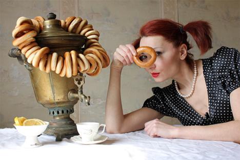 Samovar é um utensílio de cozinha tradicional russa Foto: Tatiana Vich