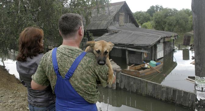El Servicio Meteorológico Federal prevé que aumentarán las inundaciones, como las ocurridas este verano en el este del país. Fuente: AP