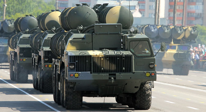 Sistema antiaéreo S-300. Fuente: Andréi Aleksándrov / Ria Novosti