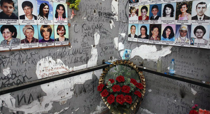 Uno de los peores atentados de la historia de Rusia tuvo lugar en Beslán, Osetia del Norte, en septiembre de 2004. Fuente: Robert Neu