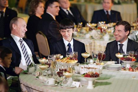 Além de cozinhar para líderes russos, Beliáev comandou a cozinha para recepcionar Fidel Castro e Margaret Thatcher Foto: Dmítri Astakhov/RIA Nóvosti