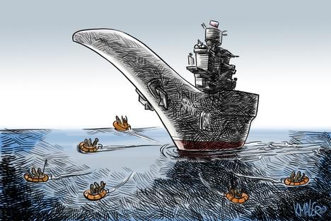 Ilustración de Konstantín Maler.