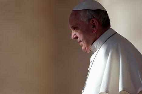 El papa Francisco recibirá al presidente de Rusia, Vladímir Putin, en el Vaticano. Foto: Reuters/Vostock Photo.