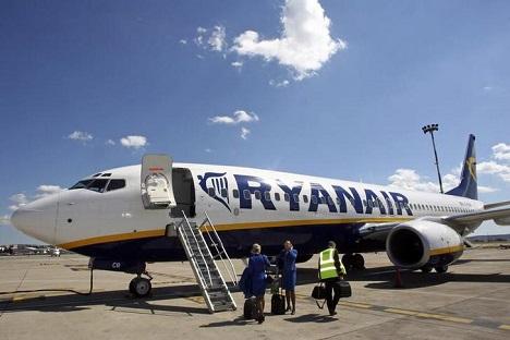 Ryanair es una de las mayores compaías lowcost de Europa. Fuente: Reuters.