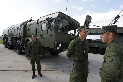 O Iskander-M leva mísseis balísticos com um alcance máximo de 500 km Foto: ITAR-TASS