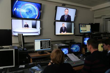 Cada vez hay más periodistas en Rusia que buscan independencia editorial.Fuente: Press Photo.