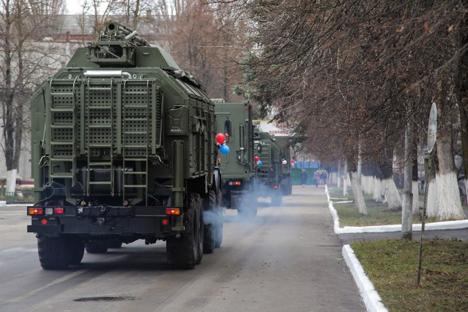 A unique electronic warfare system Krasukha-4. Source: Rostec.ru