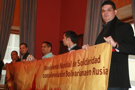La coordinadora del movimiento aglutino a diversas organizaciones sociales rusas. Fuente: Santi Pueyo