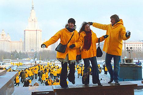 Universidade Estatal de Moscou Lomonossov ocupou a terceira posição no ranking de melhores estabelecimentos de ensino superior dos países do Brics Foto: Ria Novosti