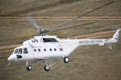 Los helicópteros rusos Mi-17 sirven para realizar multitud de tareas.