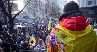 Protestas masivas en Kiev