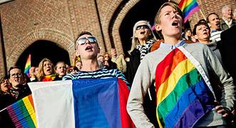 Homosexuales en Rusia