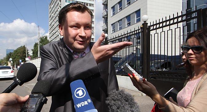 Nikolái Alexéyev. Fuente: AP
