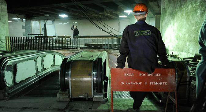 Circulan por la capital rusa numerosas leyendas acerca de las construcciones militares bajo tierra. Fuente: PhotoXpress