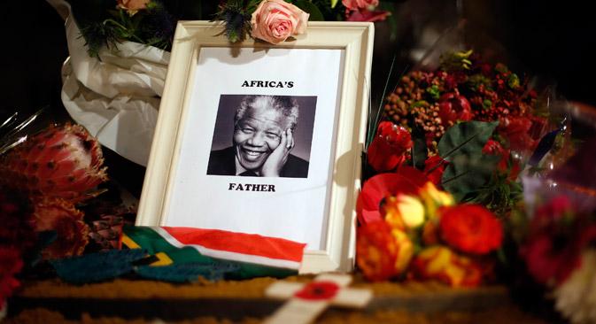 Nelson Mandela pflegte stets eine gute Beziehung zu Russland – nicht zuletzt, weil die UdSSR ihren Beitrag zum Ende der Apartheid lieferte. Foto: Reuters