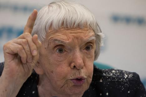Liudmila Alexéyeva. Fuente: AP