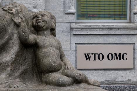 Quando a Rússia entrou na OMC, o governo do país negociou condições tarifárias com outros membros da União Aduaneira Foto: Reuters