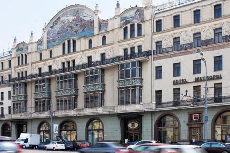 Hotel Metropol. Fuente: ITAR-TASS