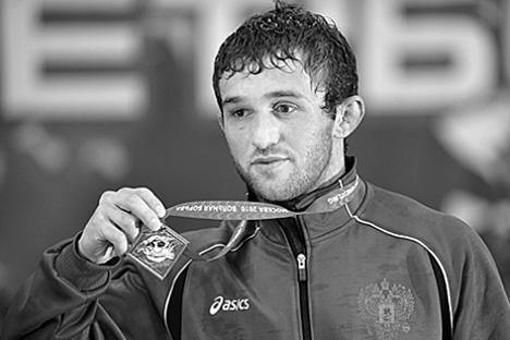 El luchador Besik Kudujov fue bronce en Pekín 2008 y plata en Londres 2012. Fuente: wrestrus.com