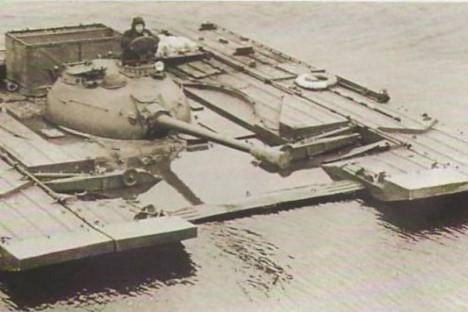 Tanque T-54. Fuente: archivo.