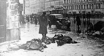 Fotos: el sitio de Leningrado