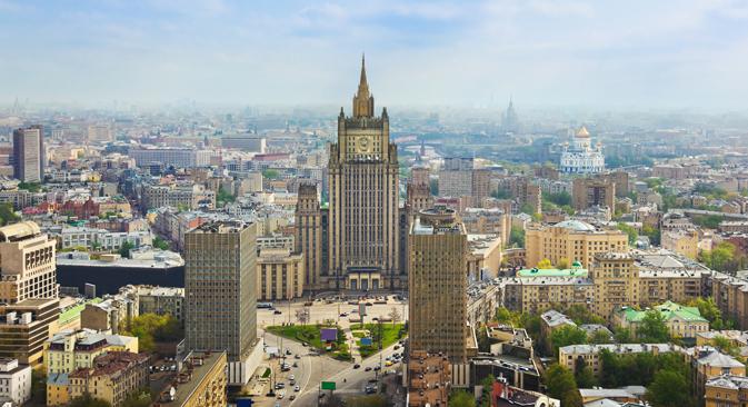 Ministerio de Asuntos Exteriores de Rusia. Fuente: Shutter stock / Legion media