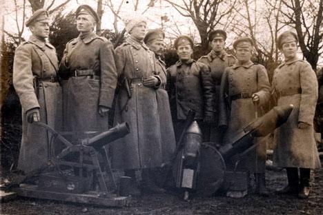 Una de las armas más utilizadas en el siglo XX fue rechazada durante la época zarista. Fuente: wikipedia