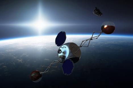 Atualmente, para evitar colisões com detritos perigosos, é preciso frequentemente desviar os satélites Foto: wikipedia / jwmissel